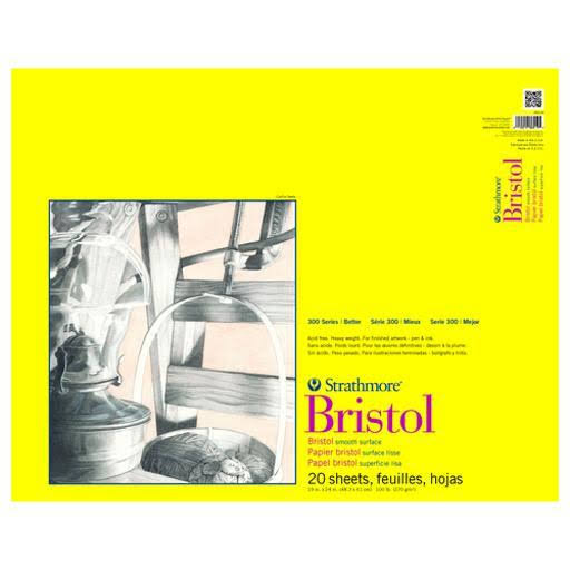 Strathmore Bristol Paper Pad - 20 Sheets