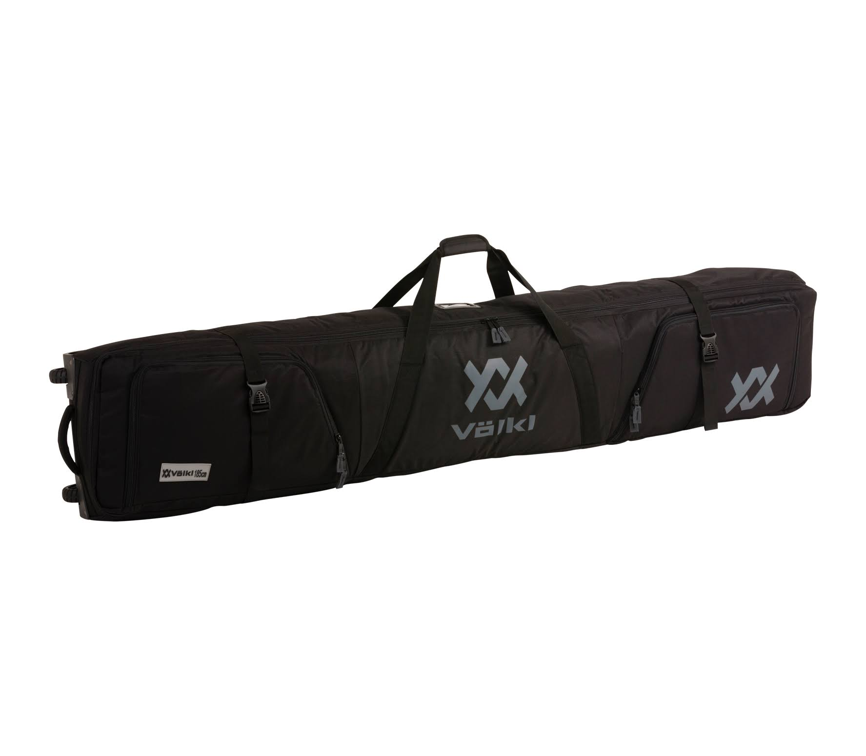 Volkl Double Ski Bag - Black, 185cm