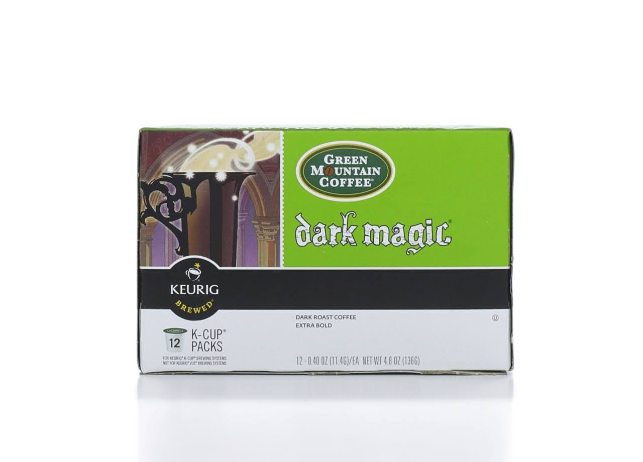 Green Mountain Coffee Keurig K-Cups - Dark Magic, 12ct