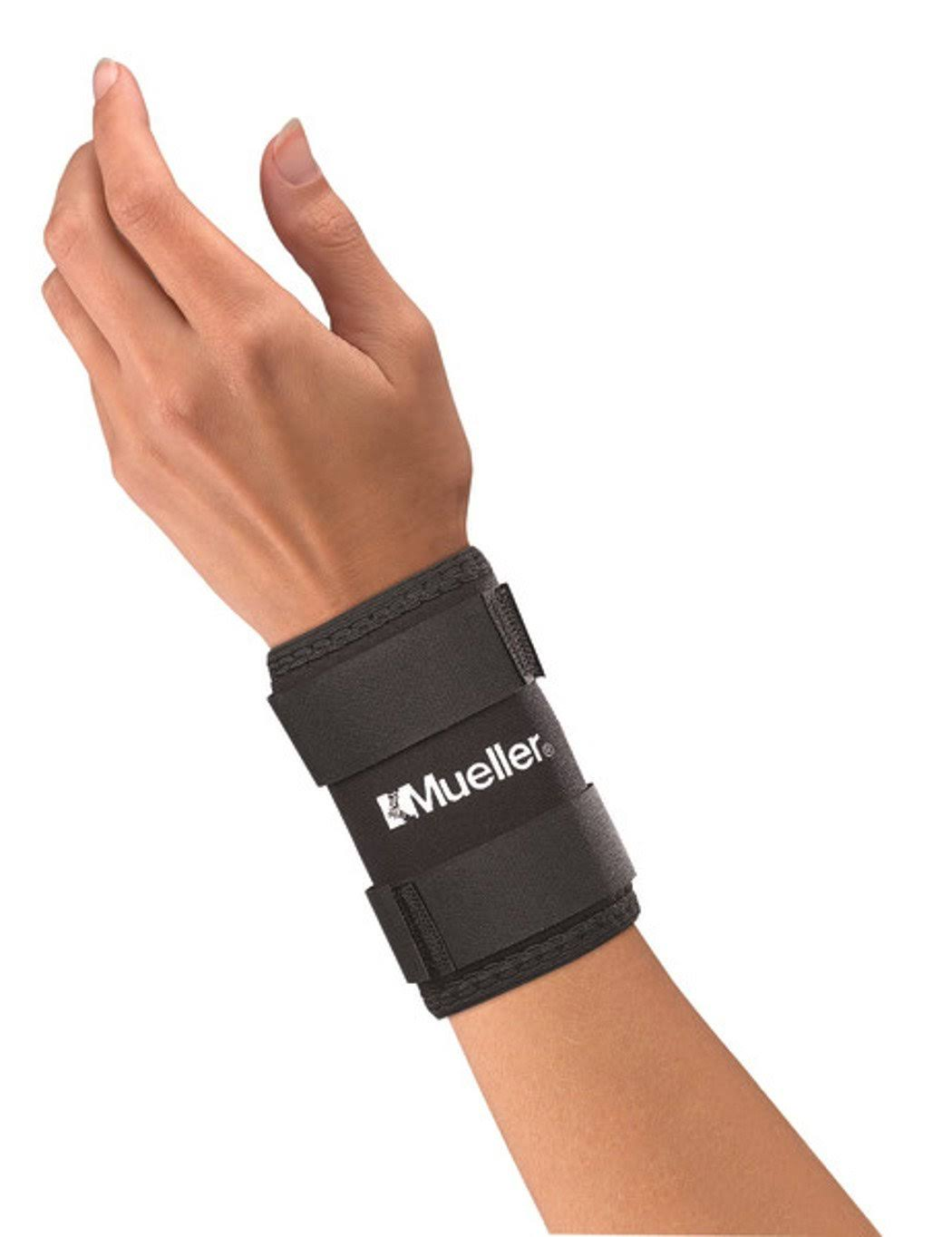 Mueller Neoprene Wrist Sleeve, Black, Medium