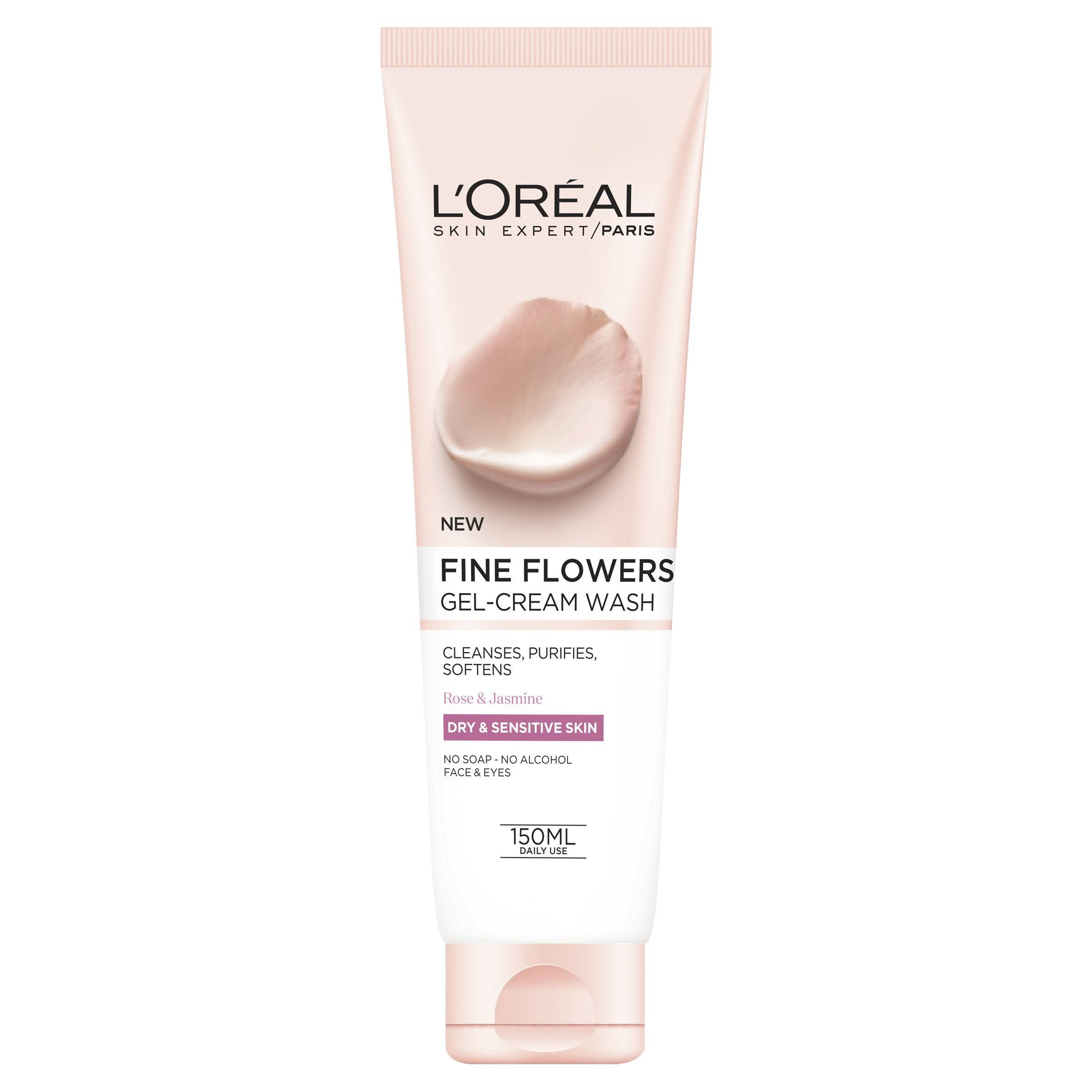 L'Oreal Paris Fine Flowers Cleansing Wash - 150ml