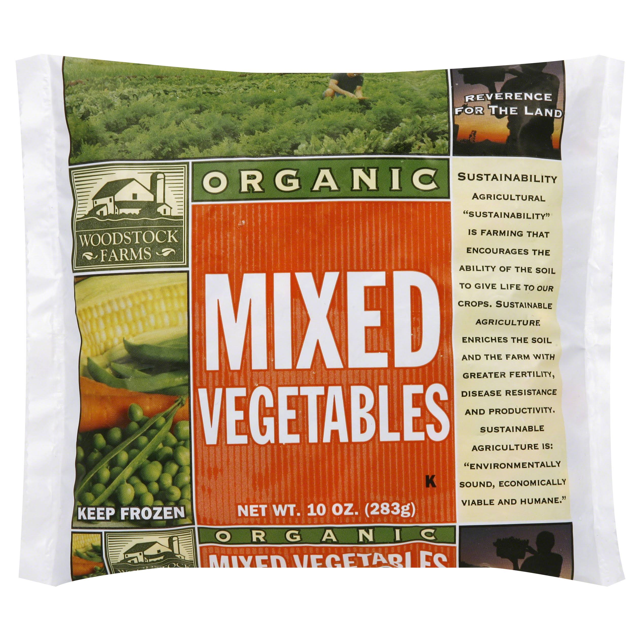 Woodstock Farms Organic Mixed Vegetable - 10oz