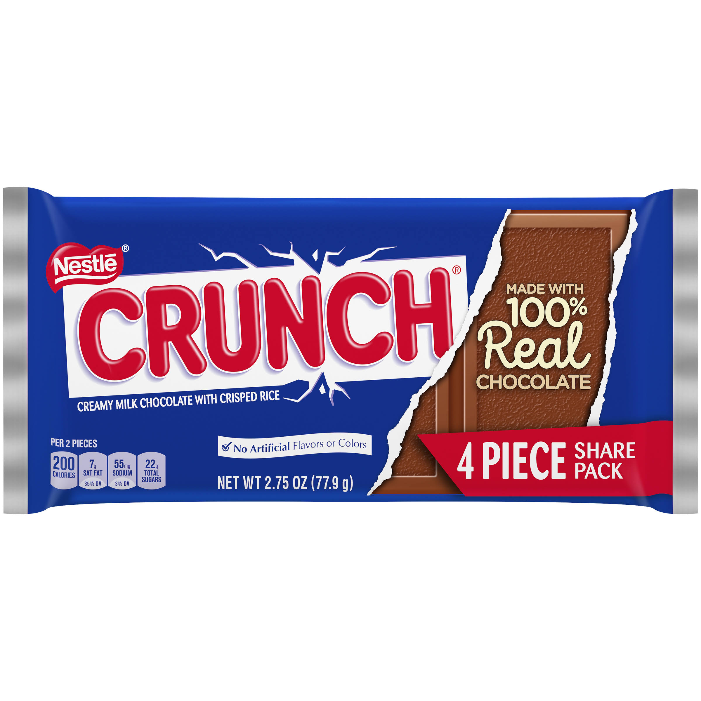 Crunch Milk Chocolate Creamy, With Crisped Rice