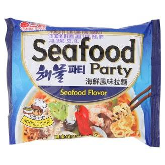 Samyang Instant Noodles (Seafood Party)