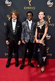 Cast Of Halloween 2 by Millie Bobby Brown Looks Like An Angelic Queen At The Emmys