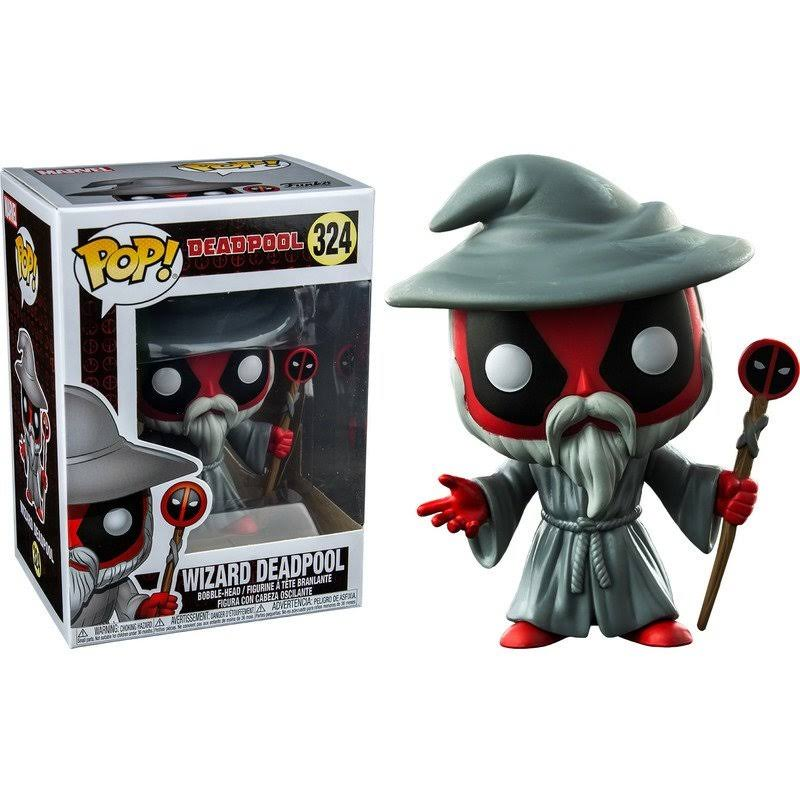 Funko Pop Deadpool Wizard Deadpool Us Exclusive Vinyl Figure