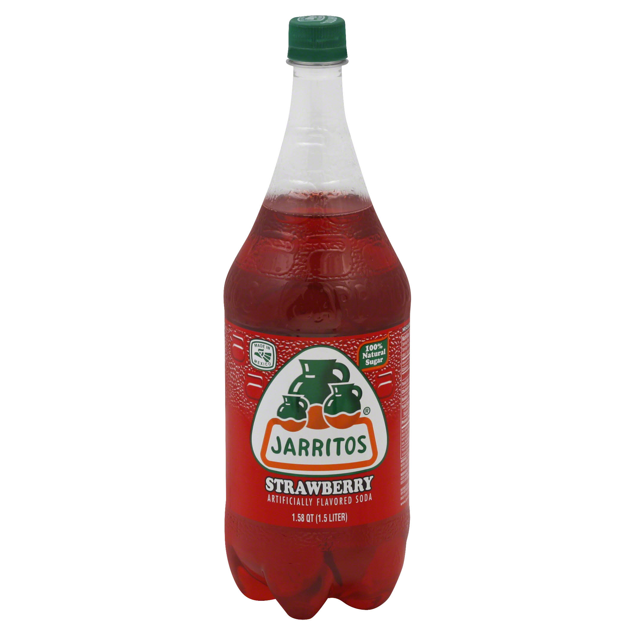 Jarritos Soda - Strawberry, 1.5L