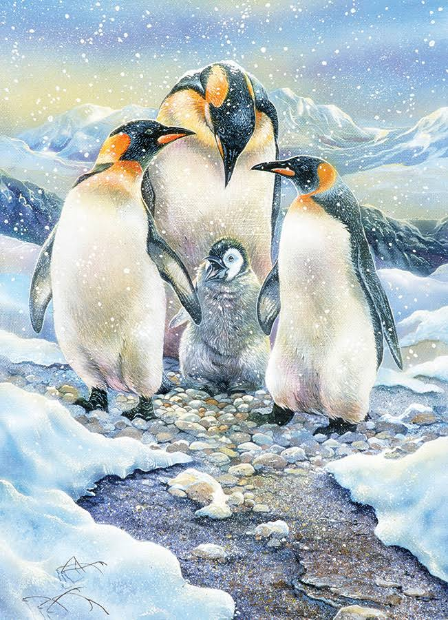 Cobble Hill Penguin Family