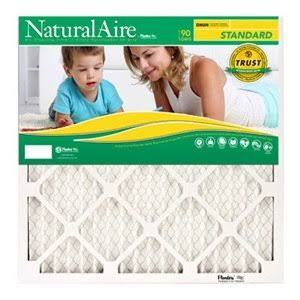 Naturalaire Standard Air Filter - 16x25x1 in
