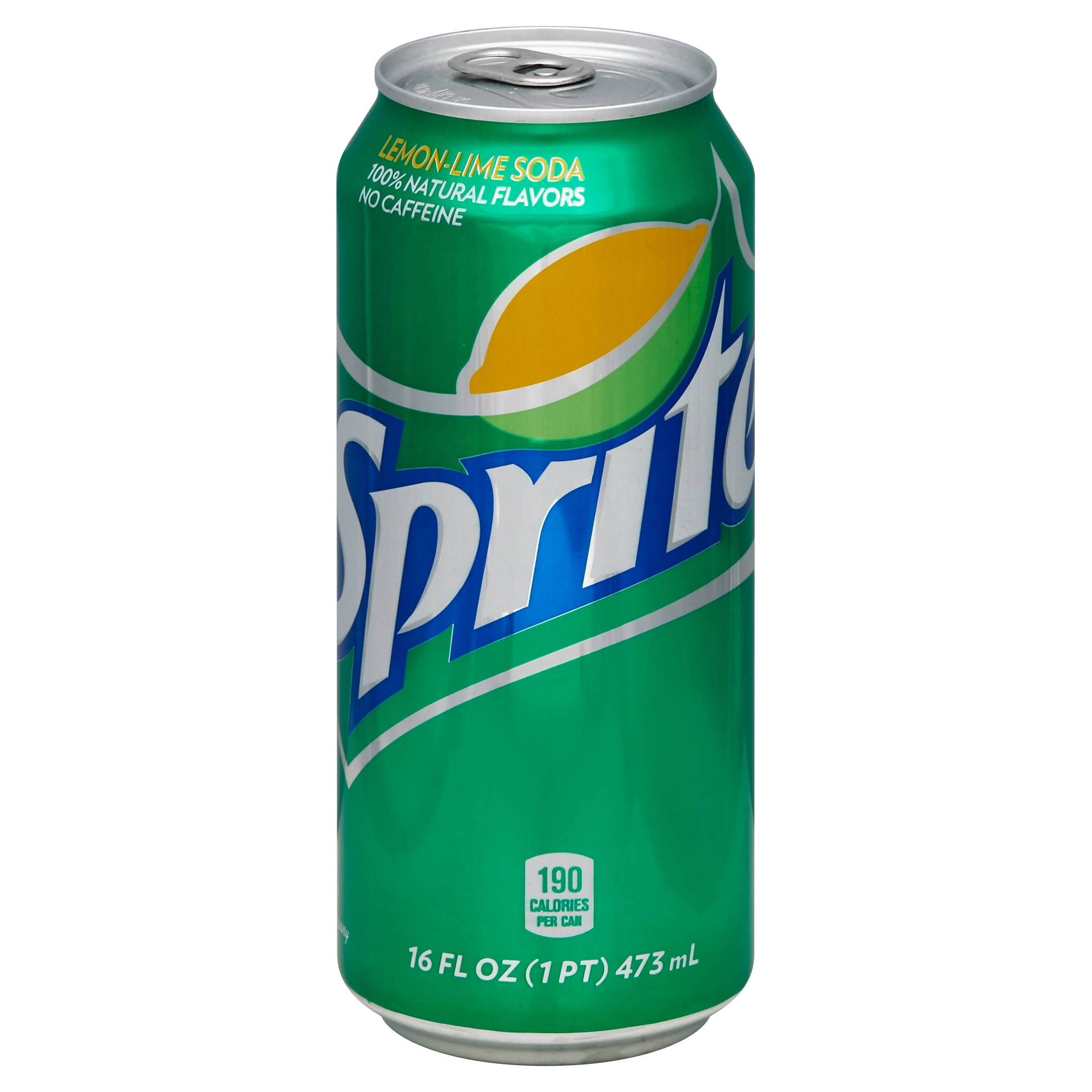 Sprite Soda - Lemon Lime, 16oz
