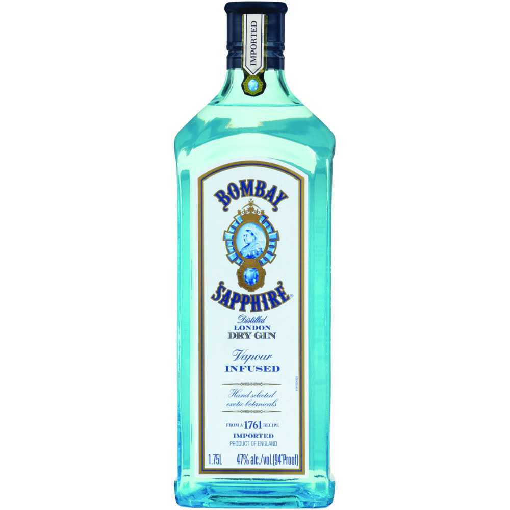 Bombay Sapphire Dry Gin - 1.75l