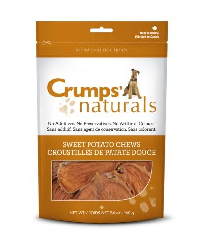 Crumps' Naturals Dog Chews - Sweet Potato