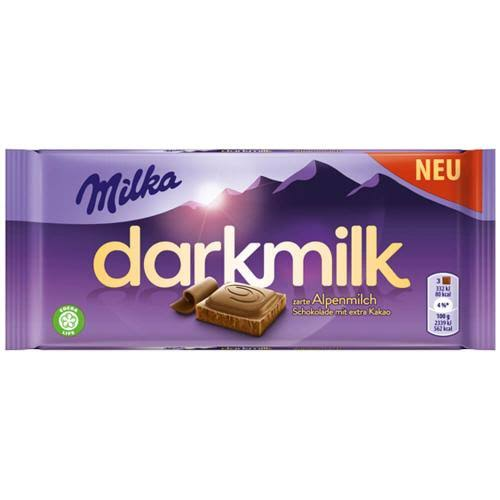 Milka Dark Milk Alpine 100g