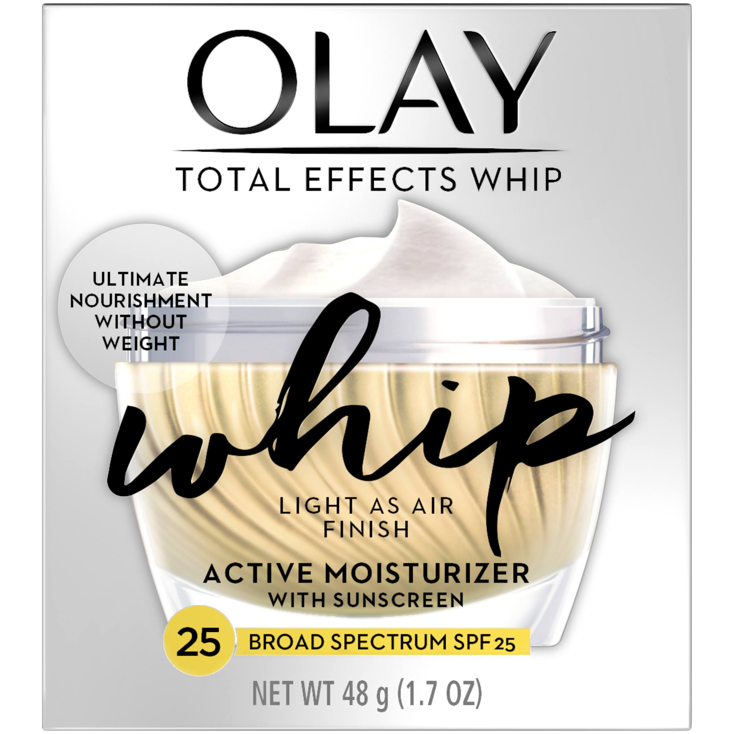 Olay Total Effects Whip Active Moisturizer - SPF 25, 1.7oz