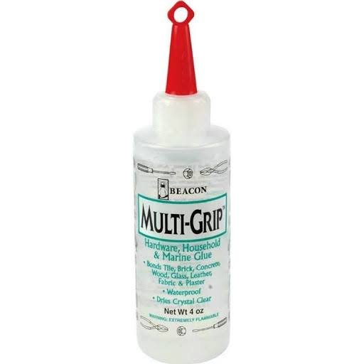 Beacon Multi-Grip Hardware, Household & Marine Glue - 4oz