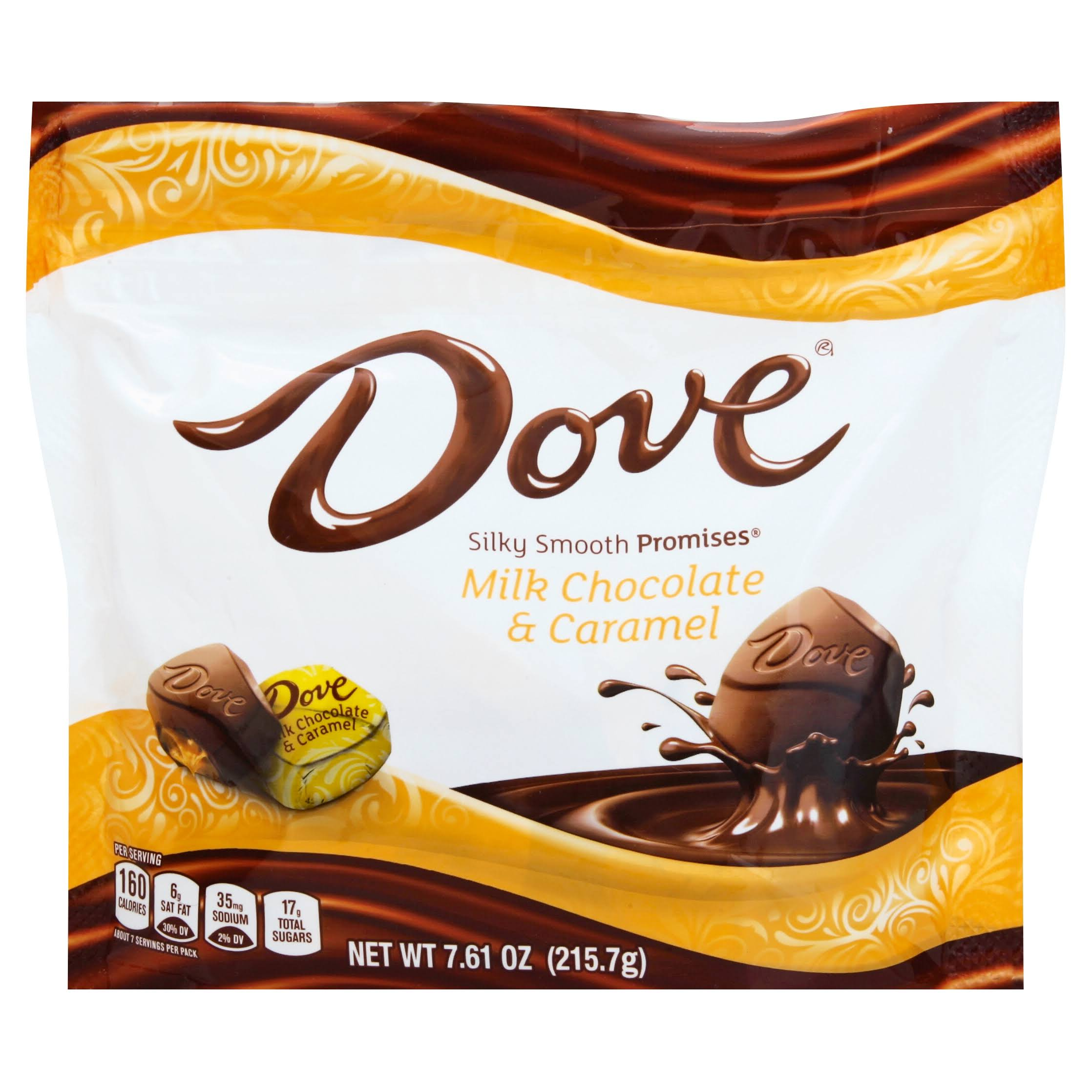 Dove Promises Candies - Milk Chocolate & Caramel, 7.6oz
