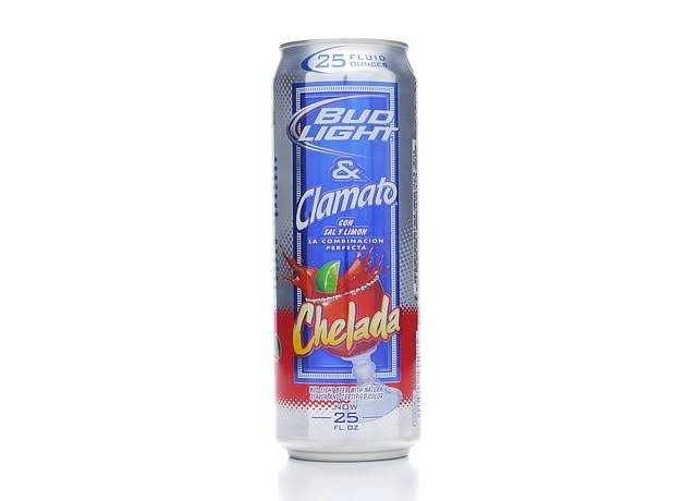 Bud Light Beer & Clamato with Salt and Lime - Chelada