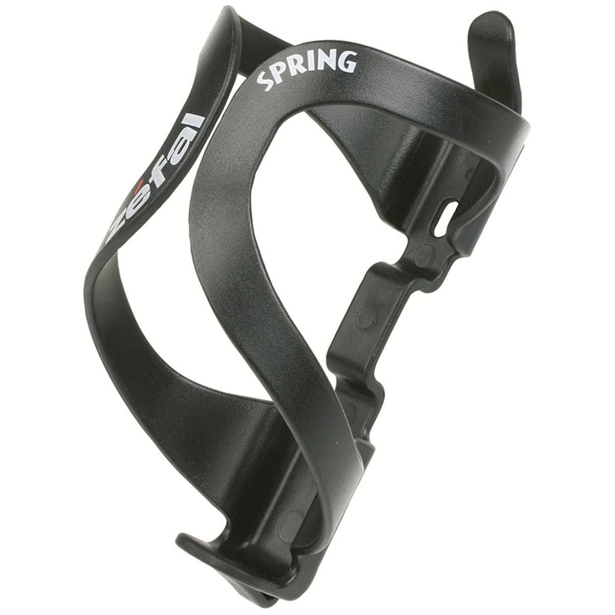 Zefal Spring Bicycle Water Bottle Cage - Black