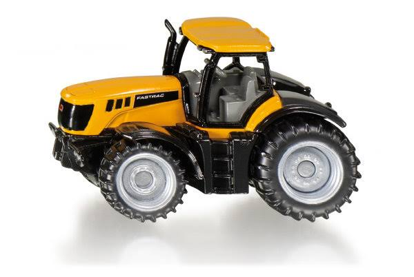 Siku JCB Fastrac Tractor Diecast Model Machinery - Yellow