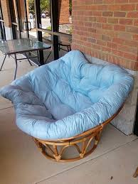 Ikea Pod Chair Blue by Double Papasan Chair Frame Charming Indoor Or Outdoor Papasan
