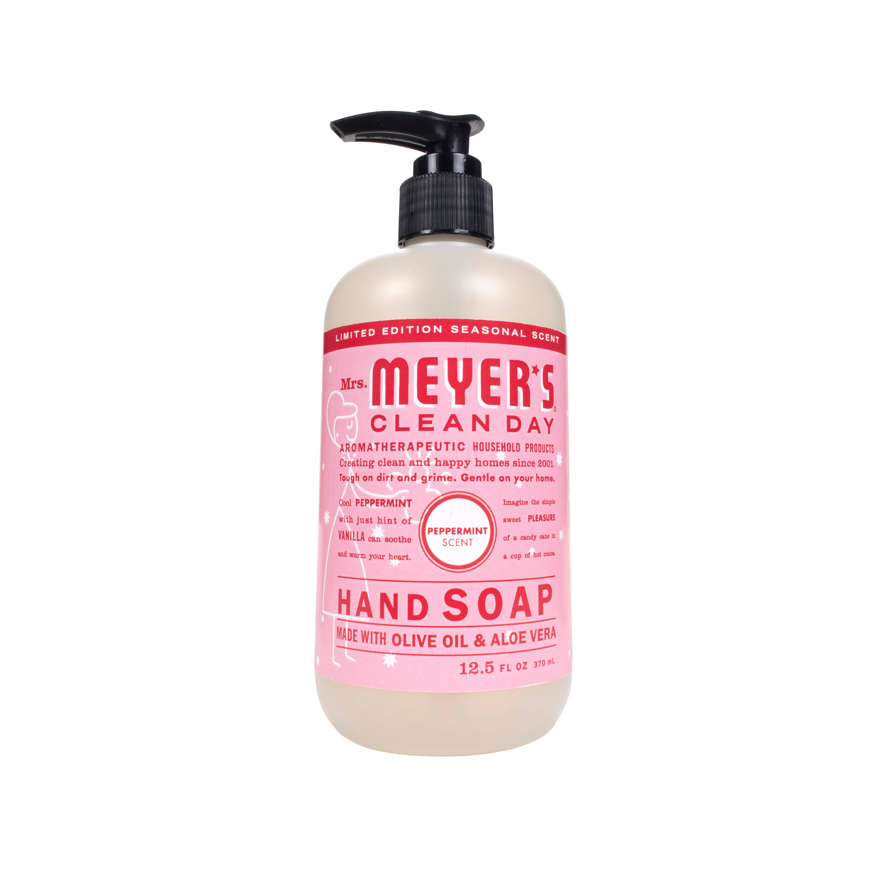 Mrs. Meyer's Liquid Hand Soap - Peppermint, 12.5oz