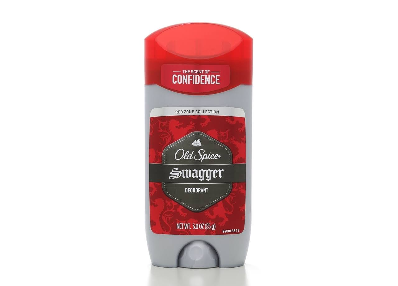Old Spice Red Zone Collection Men's Deodorant - Swagger Scent, 3oz