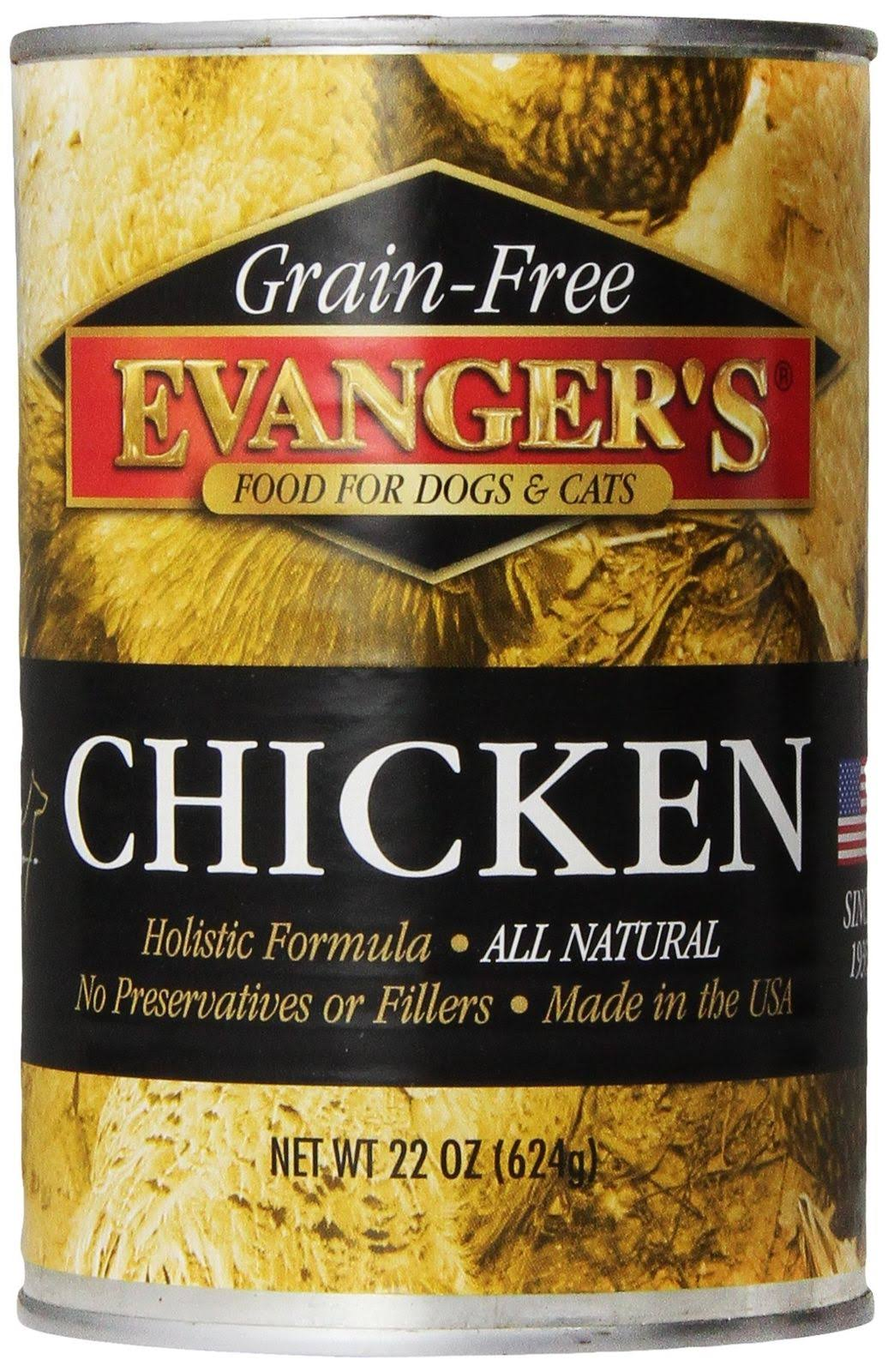 Evanger's Grain Free Chicken Canned Dog Food