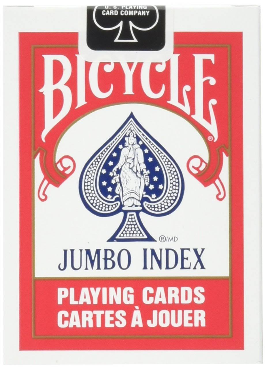 Bicycle Playing Cards Jumbo Index Deck Playing Card Game