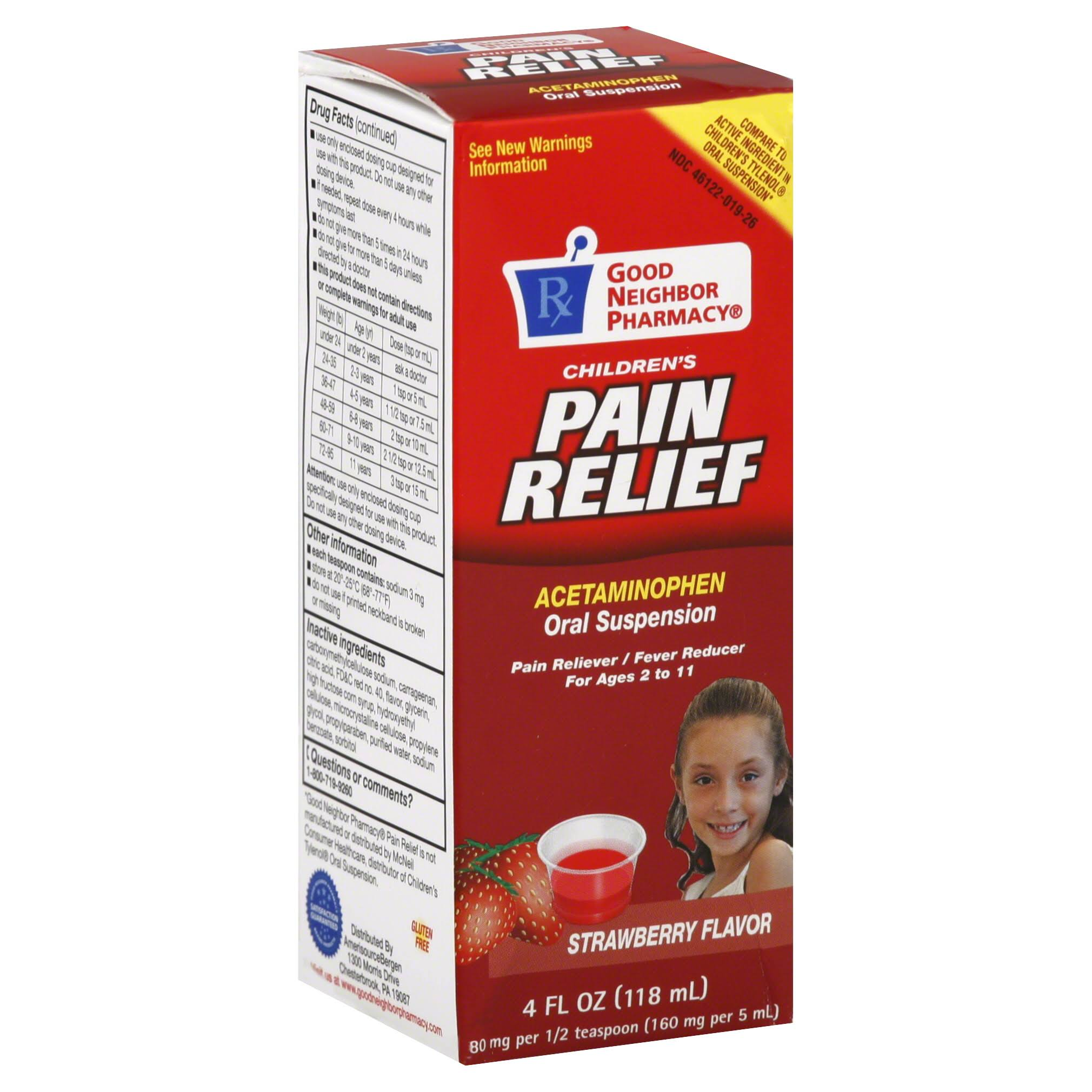 Good Neighbor Pharmacy Acetaminophen Oral Suspension