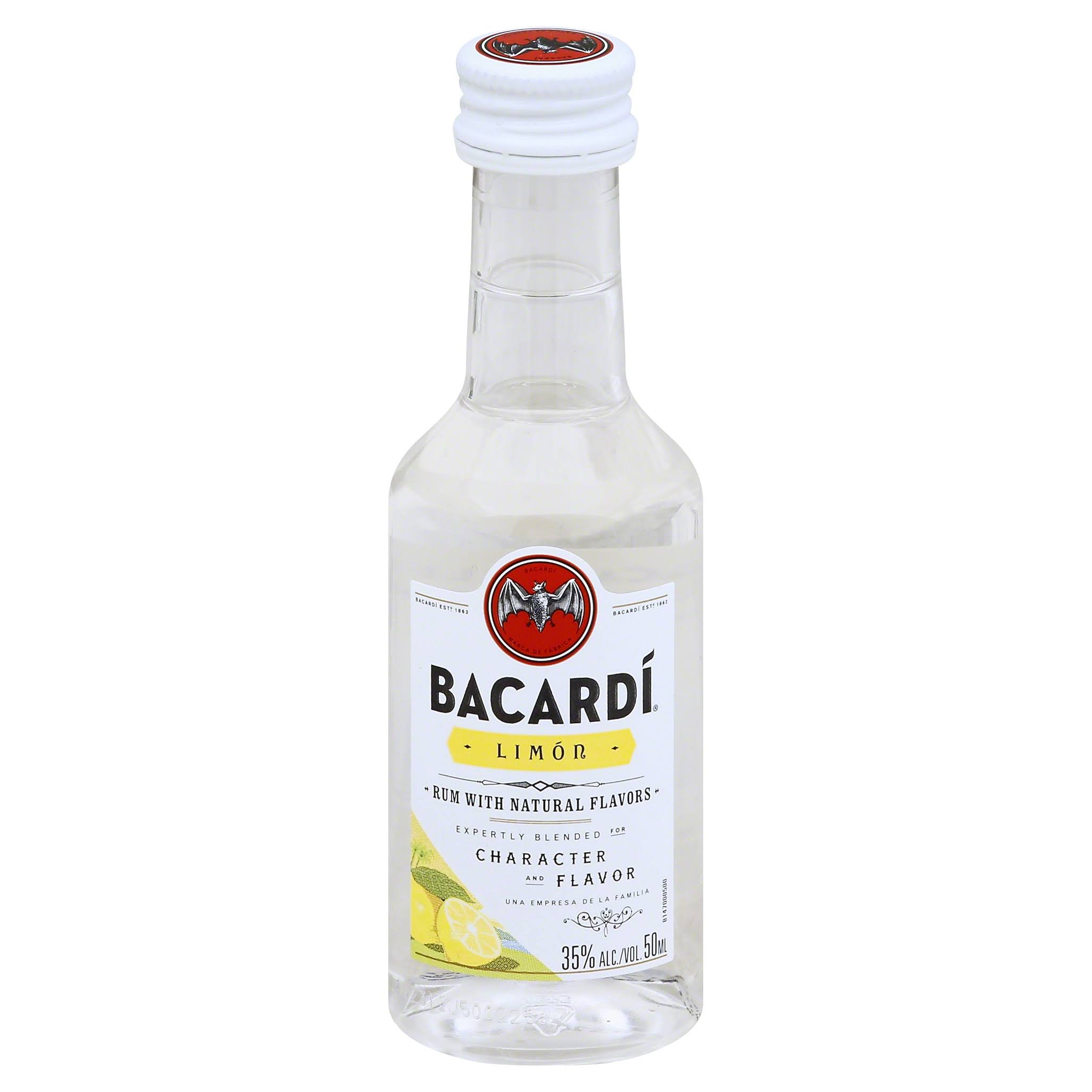 Bacardi Limon Rum - 50 ml bottle