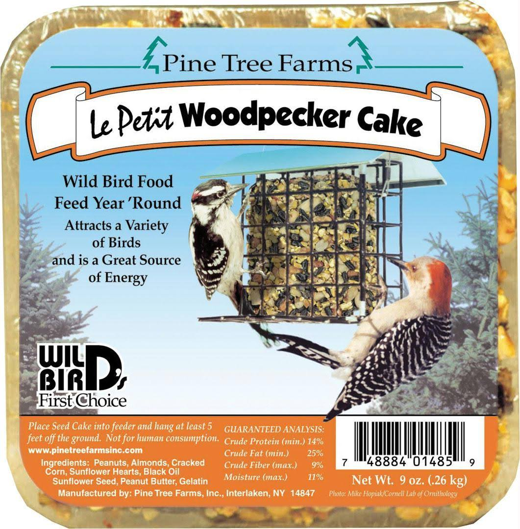 Pine Tree Farms Woodpecker Seed Cake - 9oz