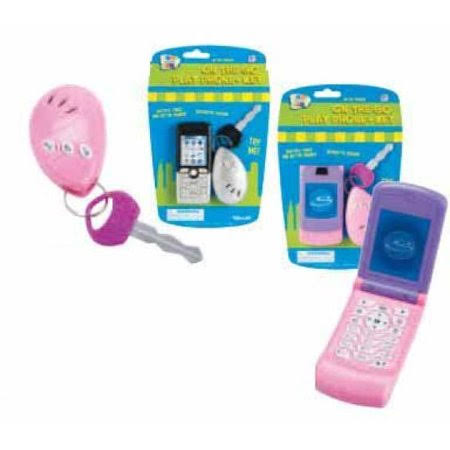 Lets Go Set: Pink Play Phone and Key Alarm