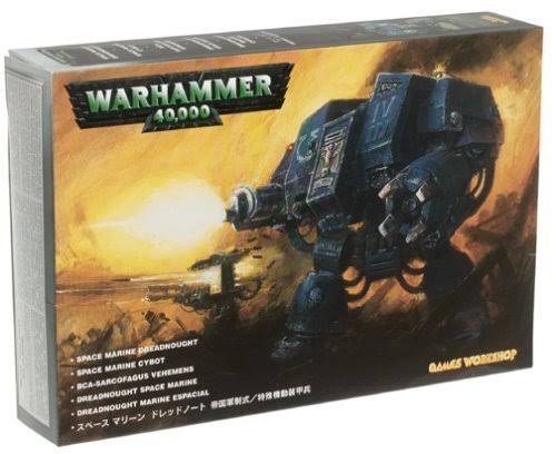 Games Workshop Warhammer 40,000 Space Marines Dreadnought