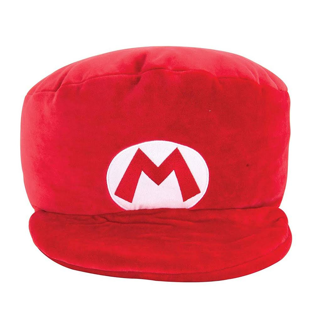 Club Mocchi Mocchi - Super Mario Mega Mario Hat Plush Stuffed Toy