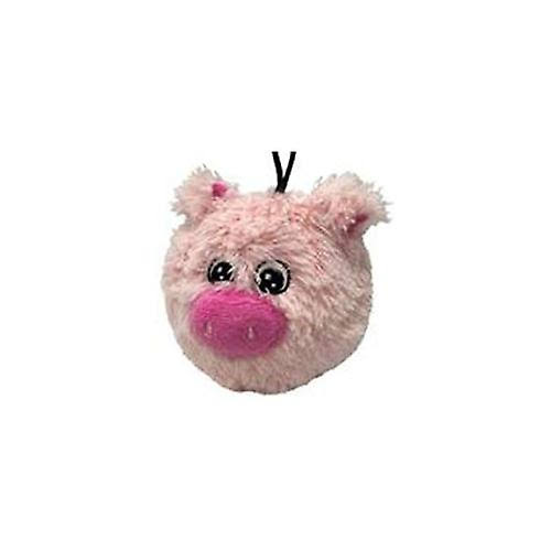 Petlou EZ Squeaky Ball Dog Toy - Pig 4""