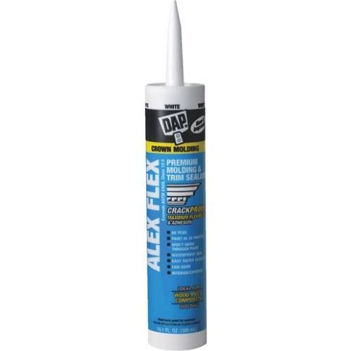 DAP Alex Flex Premium Molding and Trim Sealant - 10.1oz, White