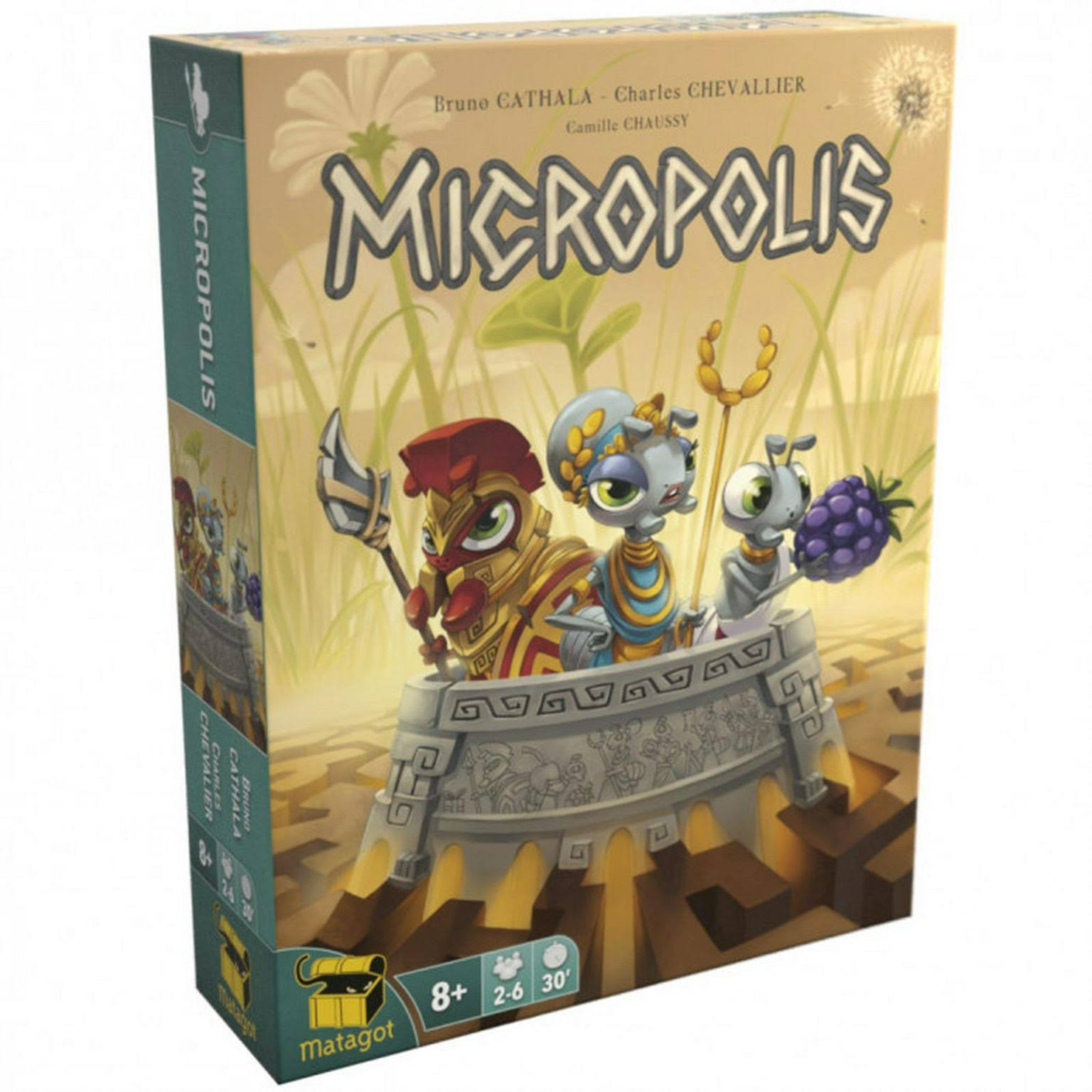 Asmodee Micropolis Board Game