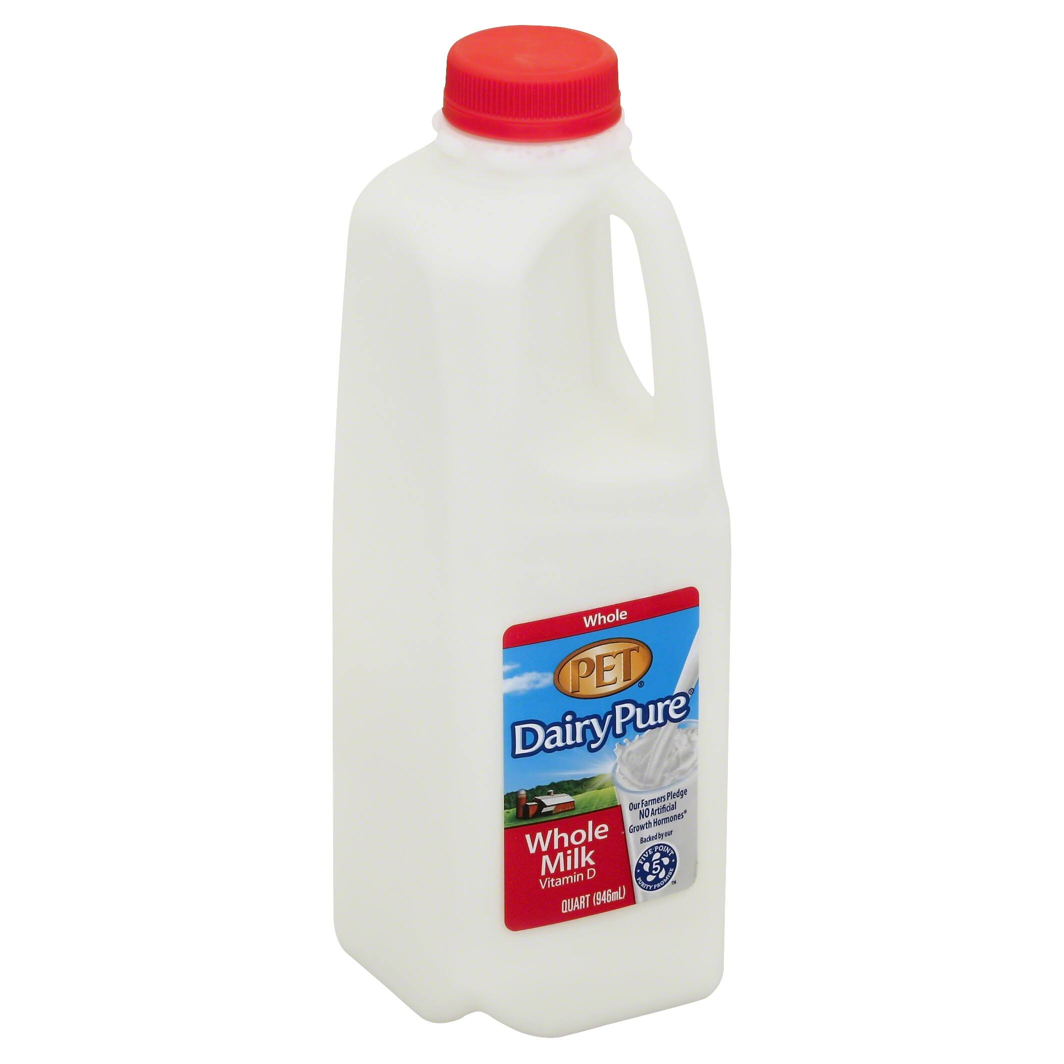 Berkeley Farms Dairy Pure Whole Milk - 1qt