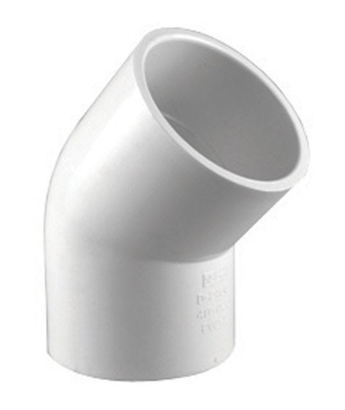 Charlotte Pipe 45 Degree S x S Elbow - 1-1/2""