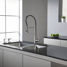 Free Standing Kitchen Cabinets Amazon by Kraus Khu102 33 33 Inch Undermount 50 50 Double Bowl 16 Gauge
