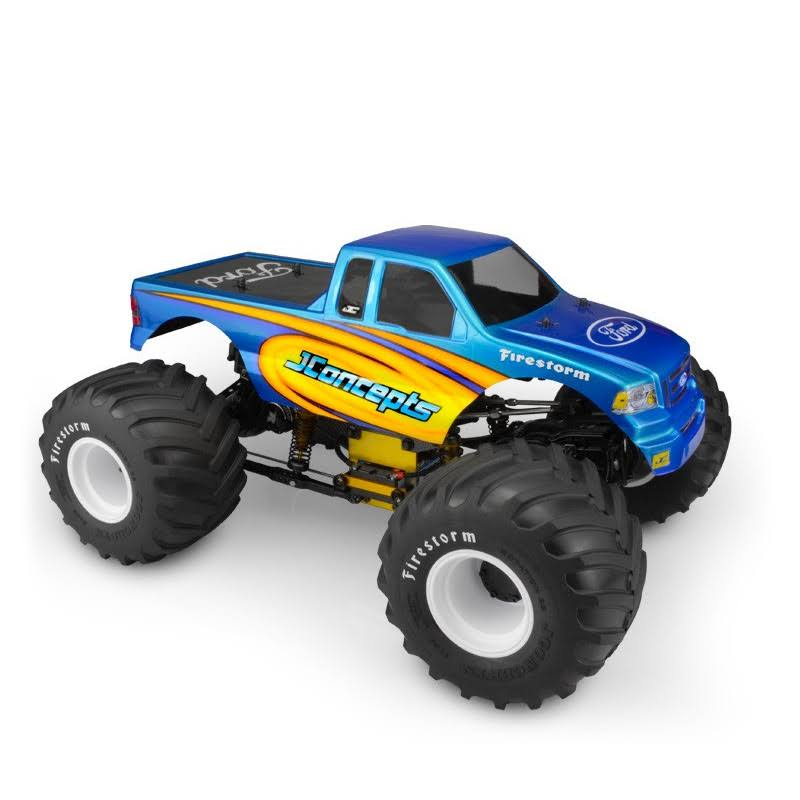 JConcepts 2008 Ford F-150 Super Cab, Monster Truck Body
