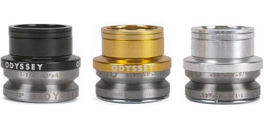 "Odyssey Integrated Pro Headset - 1 1/8"", 45x45, Black"