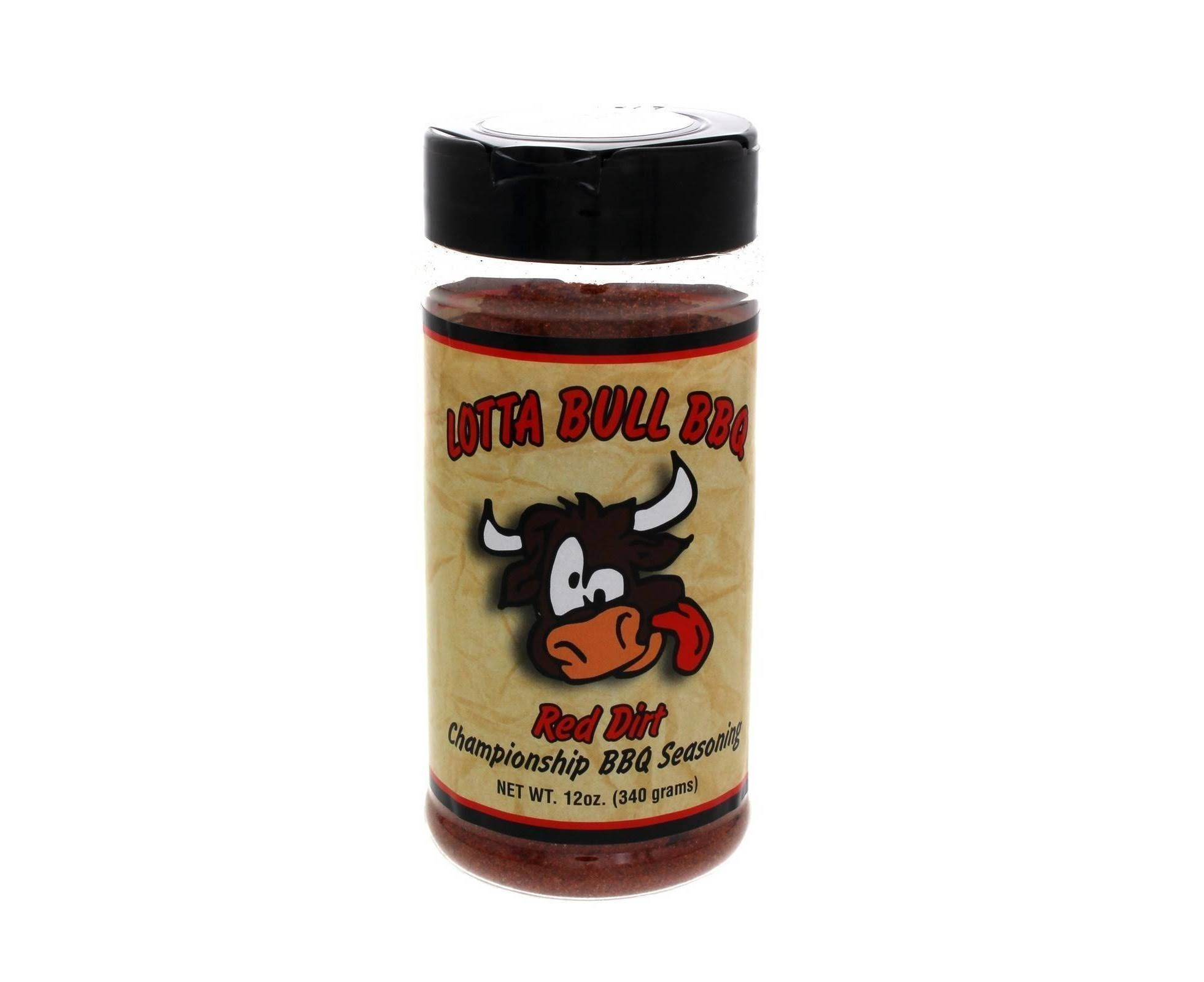 Lotta Bull Red Dirt Championship BBQ Seasoning and Rub - 12oz