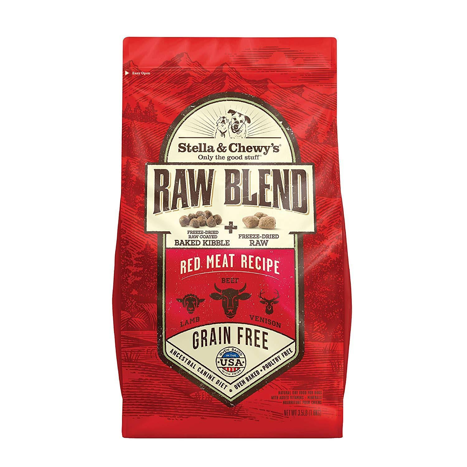 Stella & Chewy's Raw Blend Dog Food - Red Meat Recipe
