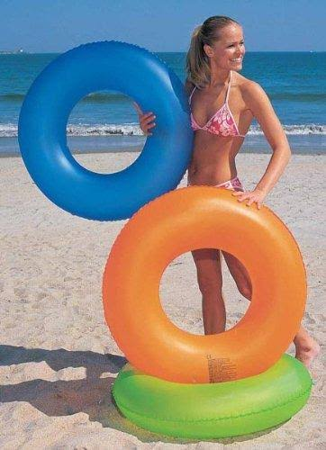 Bestway H2O GO! Swim Ring, Frosted Neon