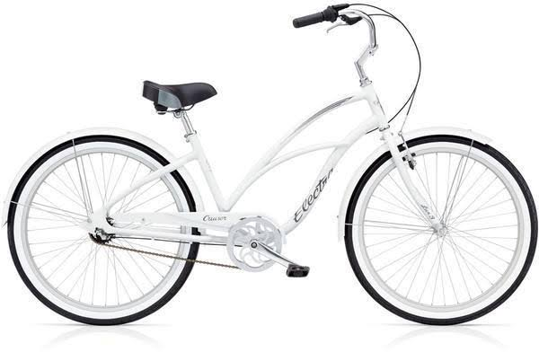 Electra Cruiser Lux 3i Ladies White