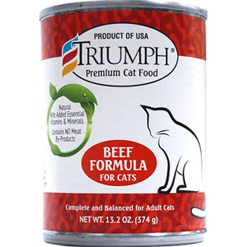 Triumph Cat Food - Beef Formula