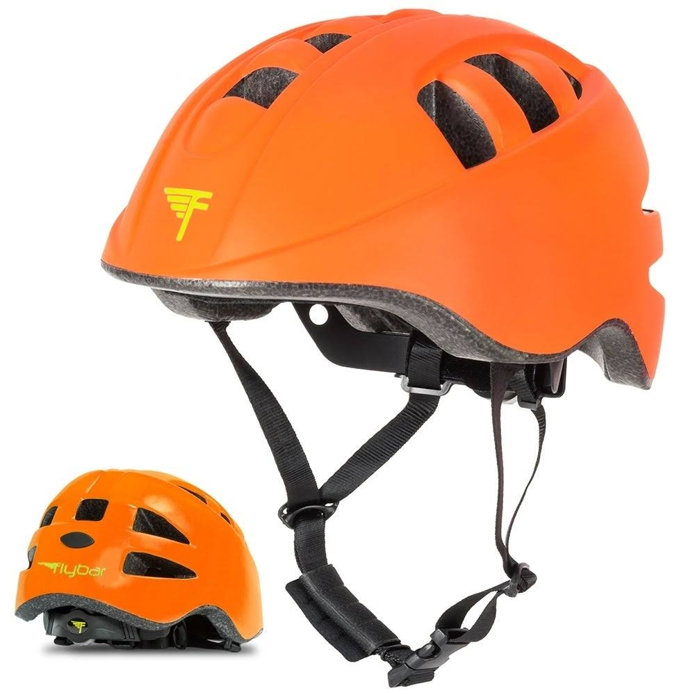 Flybar Junior Sports Helmet Small Orange