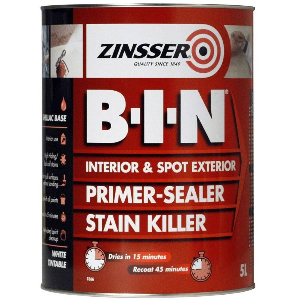 Zinsser BIN Primer Sealer and Stain Killer