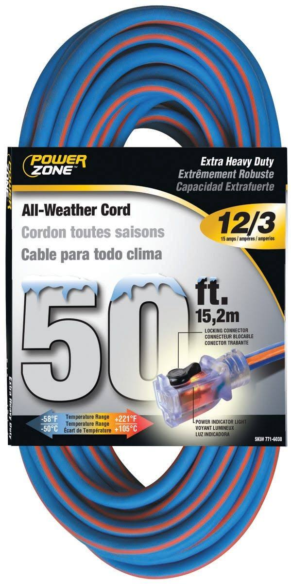 Power Zone All Weather Extension Cord - 50'